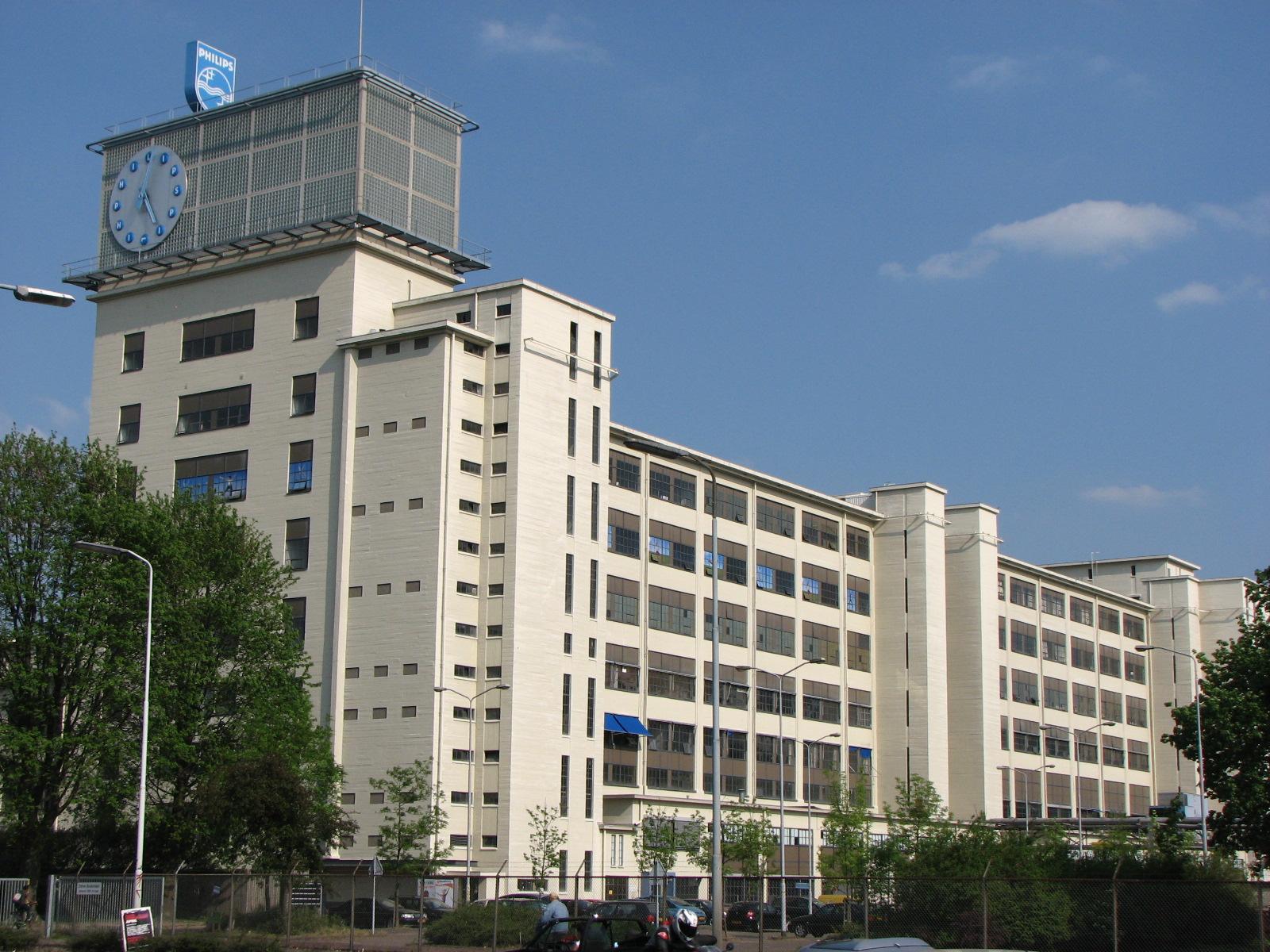 Klokgebouw Strijp-S Eindhoven