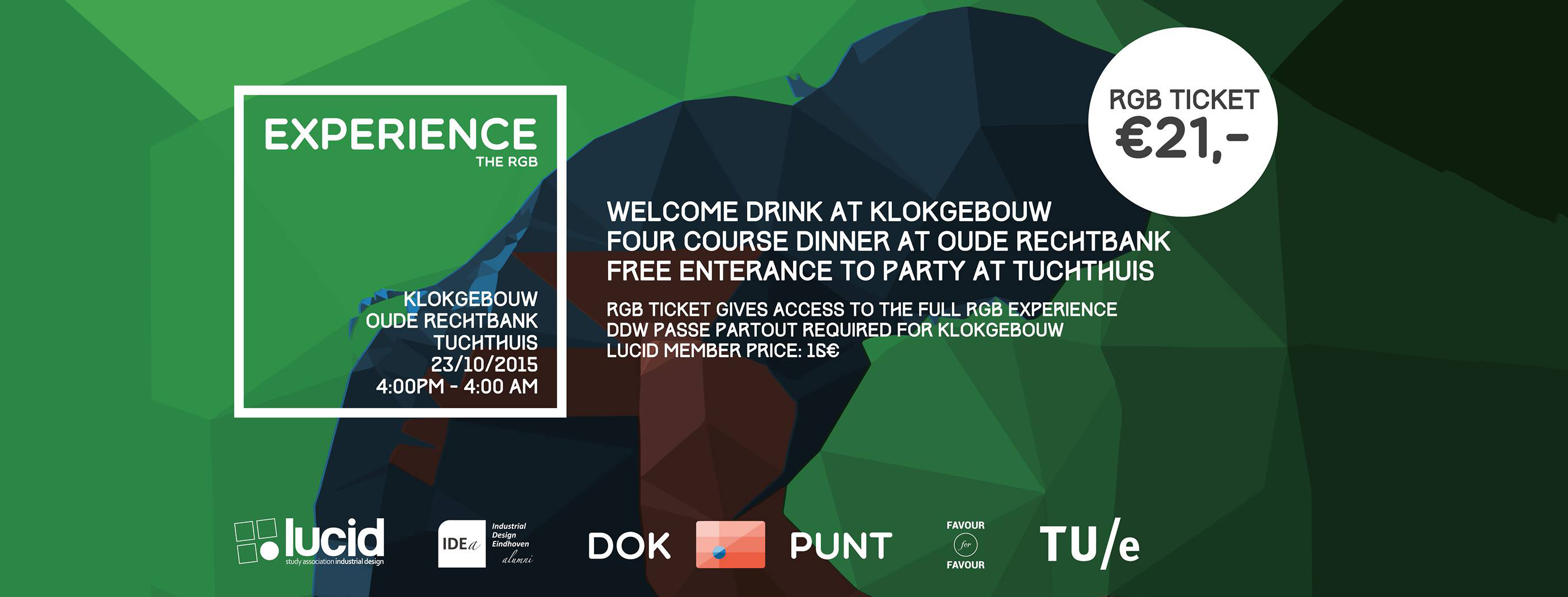 "DDW Activity: ""Experience the RGB"" on the 23rd of October"
